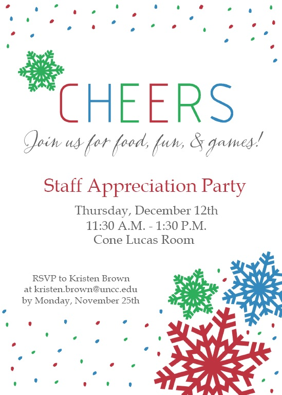 wording for employee appreciation luncheon   just b.CAUSE