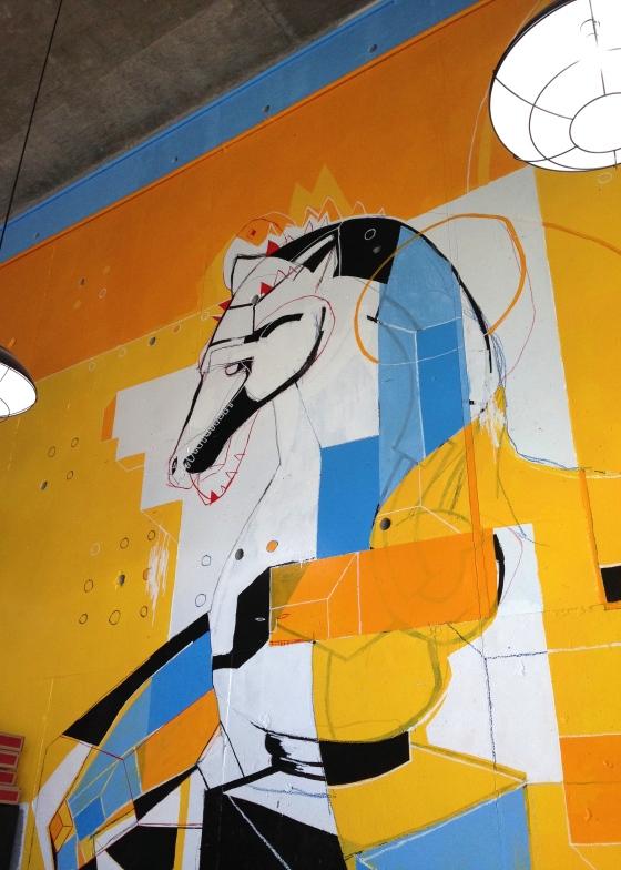 Benny Sorrentino's Wall Mural
